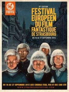 8e festival européen du film fantastique de Strasbourg affiche