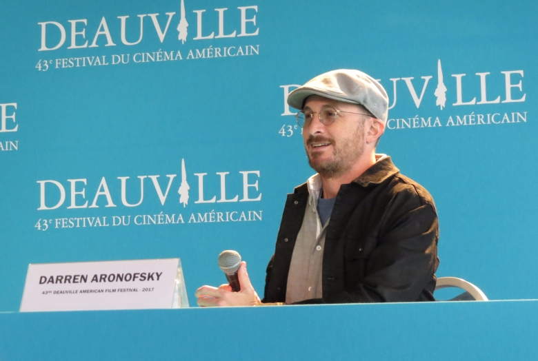 Darren Aronofsky au 43e Festival du cinéma américain de Deauville